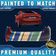 NEW Painted To Match Rear Bumper for 2015 2016 2017 Hyundai Sonata w/Park Assist