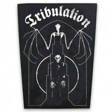 Authentic TRIBULATION Bat Sew On Death Metal Back Patch NEW