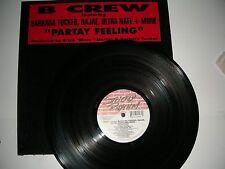 """House 12"""" B Crew Barbara Tucker Dajae - Partay Feeling Strictly Rhythm NM 1997"""