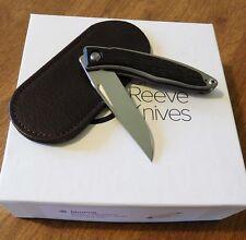 CHRIS REEVE New Bog Oak Wood Handle Mnandi Gent's Knife S35VN Bld Knife/Knives