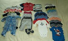 Carters baby boy 3 months clothes.Lot of 29. Different items,outfits,sleepers,EC