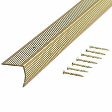 M-D Building 79020 Fluted 1-1/8-Inch by 1-1/8-Inch by 36-Inch Stair Edge - 2Pcs