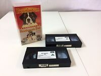 Beethoven and Beethoven's 2ND Box Set VHS tapes X2