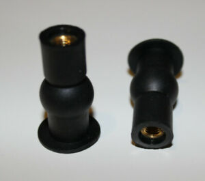 TOP FIXING KIT FOR TOILET SEAT, EXPANDABLE RUBBER WELL NUT, TOILET SEAT FITTING