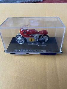 1/24 MV AGUSTA 500 John Surtees 1956 Diecast Motorcycle Model IXO