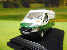 OXFORD EDDIE STOBART FLEET MAINTENANCE FORD TRANSIT MARK 3 LWB VAN 1/76 76FT3005