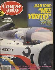 COURSE AUTO n°6 28/05/1991 F1 avant GP CANADA INDY 500 VW PASSAT VR6