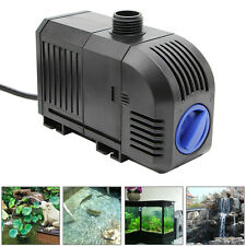 1500L/h Aquarium Fish Tank Water Pump 400GPH 25W Adjustable Submersible Fountain