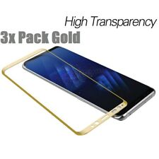 3x Full Cover Curved Tempered Glass Screen Protector For Galaxy S7 Edge S8 Note8