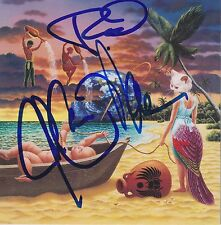 Journey signed x3 Trial by Fire cd