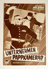 IFB #5958 - UNTERNEHMEN PAPPKAMERAD /ON THE DOUBLE*  FILMPROGRAMM -MOVIE PROGRAM
