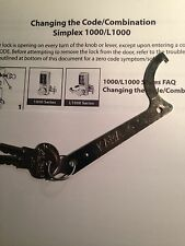 Kaba Unican Install Wrench And 2 DF-59 Keys With Instructions