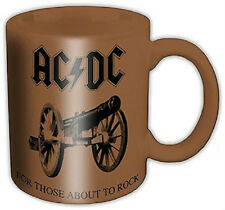 "AC/DC - ""For Those About to Rock "" -Cup - Mug -Tasse -Kaffeebecher Keramik 300ml"