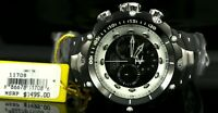 11708 Invicta Reserve Venom II Swiss Quartz Chrono 52mm Silicone Strap Watch
