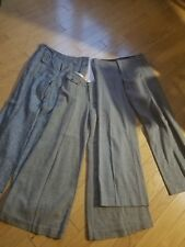 EUC Lot of 3 pants by Guess, Hailee, wide leg, one lined, one linen,  size S