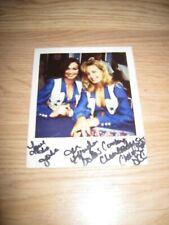 1996 Dallas Cowboys Cheerleaders One Of A Kind Signed Polaroid Photo/Free Ship!