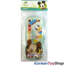 Disney Baby Mickey Stainless Steel Spoon Fork Case Set  BPA Free / Made in Korea