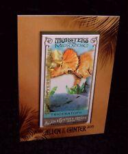 Ll 2015 mm2 Triceratops Rare dinosaur card Topps Framed A&G Monsters of Mesozoic