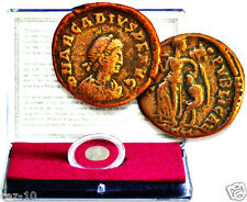 Virgin Mary Coin:Bronze From Roman Emperor Arcadius In New Clear Display Box