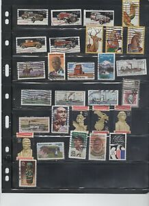 Lot #558 U.S. Assorted used  25 cent commemorative issues **SEE PIC**