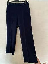 Ladies Fab Size 10 M&S Collection Short High Quality Navy Slim Fit Chinos L25 In