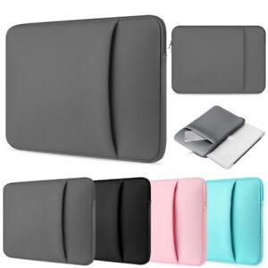 "Bag Sleeve Case For Asus 10.1"",11,6"", 12.5"", 13.3"" & 14""in Laptop-CHARGER POCKET"