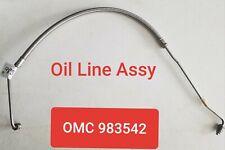 OMC Johnson Evinrude OEM 983542 0983542 OIL LINE ASSY