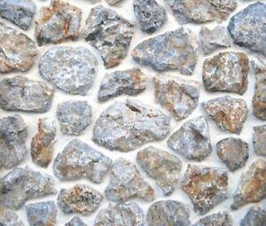Muster Naturstein, Verblender, Wandverkleidung, Natursteinplatten ROCK FACE GREY