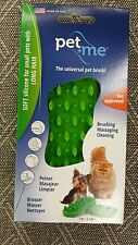 Pet Me Ultimate Silicone Pet Brush for Long Haired Cats