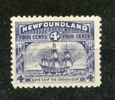 NEWFOUNDLAND 1911-16 violet blue mint hinged. SG 124. Cat £35
