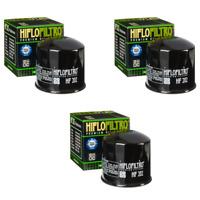 Hiflofiltro HF163-2 2 Pack Premium Oil Filter 2 Pack