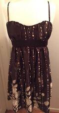 Brown Dress (Size: 9)