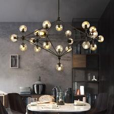 Large Chandelier Lighting Kitchen Pendant Light Black Lamp Office Ceiling Lights