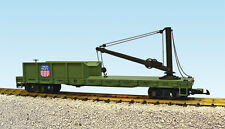 USA Trains G Scale DERRICK CAR w/BRASS BOOM R1804 Union Pacific