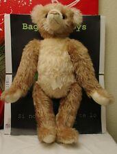 """Mohair 24"""" Terri Larson Creation Plum Street Teddy Bear Articulated Jumbo"""