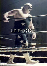 4x6  WRESTLING PHOTO   MASKED SUPERSTAR   S0015     wwe   tna