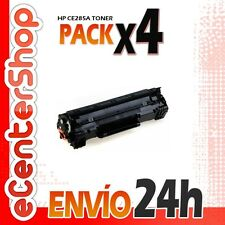 4 Toners Compatibles HP CE285A NON-OEM para HP Laserjet Professional P1102 w