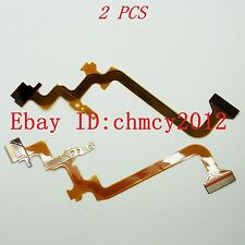 2PCS LCD Flex Cable for JVC GZ-MS230 GZ-MG750 GZ-HM300 HM320 GZ-HM330 GZ-HM550
