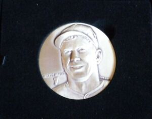 MICKEY MANTLE NY YANKEES HIGHLAND MINT MAGNUM COIN 4 OZT 999 SILVER ROUND 1/750