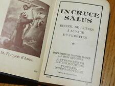 1929 IN CRUCE SALUS recueil prières STEINBRENER VIMPERK notre dame bon secours