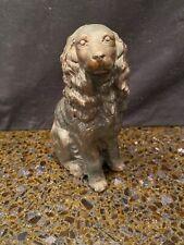 Vintage Cold Cast Bronze Irish Setter Dog Figurine