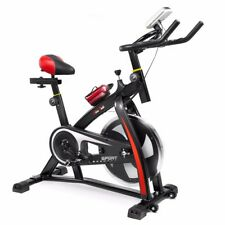 XtremepowerUS Stationary Exercise Bicycle Indoor Fitness Bike Cycling Cardio