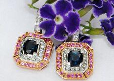 Sapphire 18k Fine Earrings