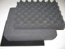 3 piece Replacement foam set for Pelican 1200 Lid+Middle Pluck+bottom pad-NEW!!
