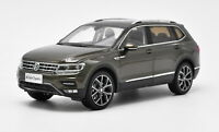 1/18 VW Volkswagen New Tiguan L 2017 Brown DieCast Car Model Toy Collection