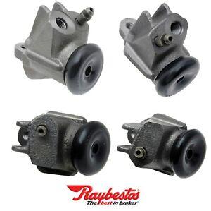 4 Drum Brake Wheel Cylinders Front Lower & Upper Left & Right.