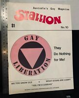 Stallion, Australia's gay magazine, c. 1982, LGBT, Sydney, vintage