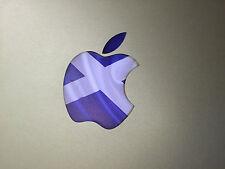 """Écosse / écossais Drapeau Autocollant Vinyle Logo Apple Autocollant pour Macbook 13 """" 15"""""""