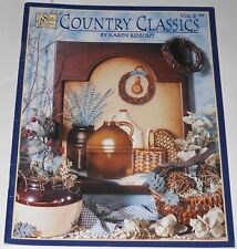 Country Classics Volume 2 Painting Book by Karen Rideout Kitchen Witich Snowman