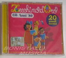 ZECCHINO D'ORO - GLI ANNI 80 - 20 Canzoni - CD Sigillato